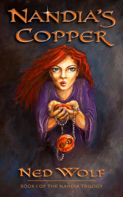 Nandia's Copper front cover image