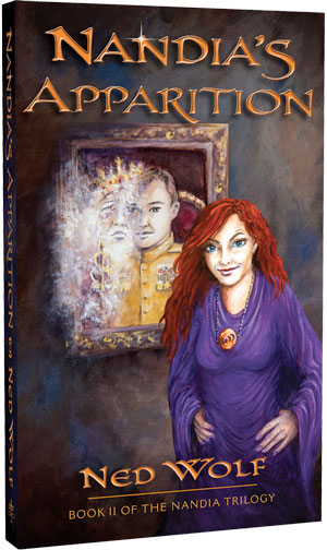 Nandia's Apparition front cover