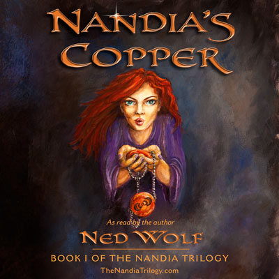 Nandia's Copper audiobook cover