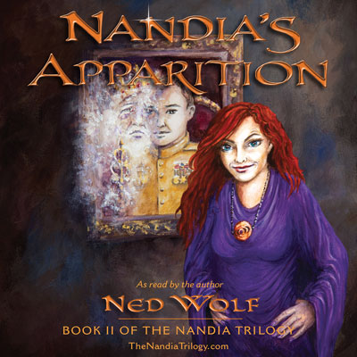 Nandia's Apparition audiobook cover